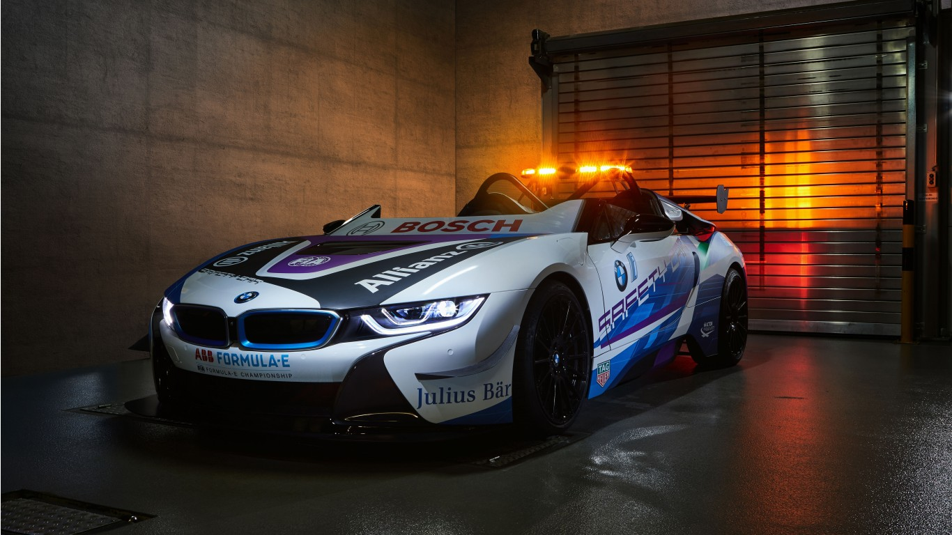 Iphone X Wallpaper Jeep Bmw I8 Roadster Formula E Safety Car 2019 5k Wallpaper