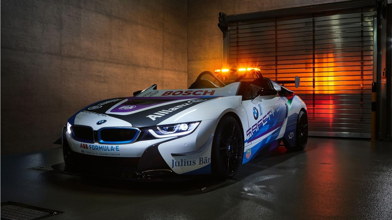 Bmw M5 Wallpaper Hd Bmw I8 Roadster Formula E Safety Car 2019 5k Wallpaper