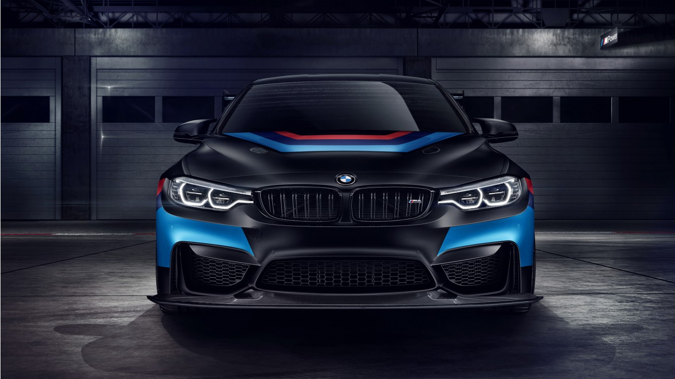 Car Wallpaper Hd  Bmw M4 Gts Black Wallpaper Hd Car Wallpapers Id 8108