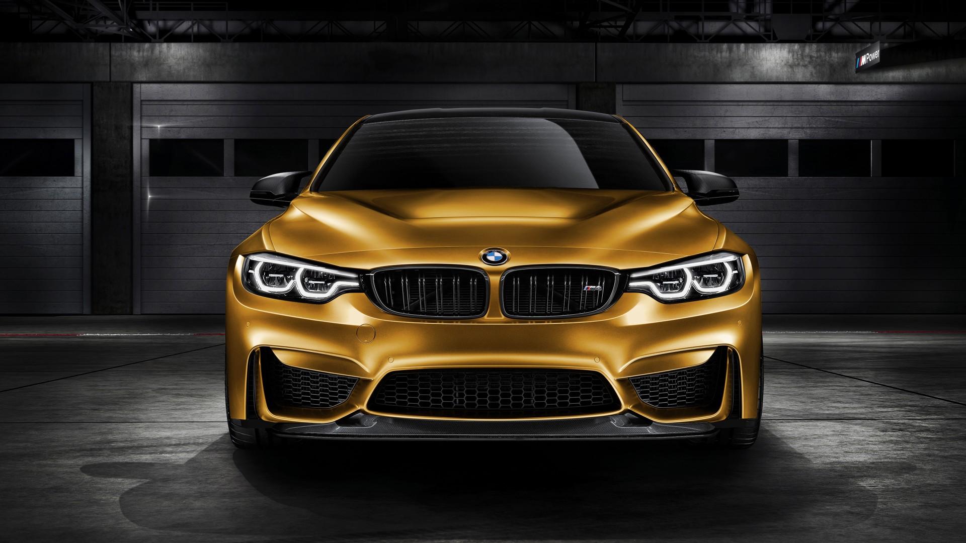 Iphone X Gold Wallpaper Bmw M4 Gts Sunburstgold 2018 4k Wallpaper Hd Car