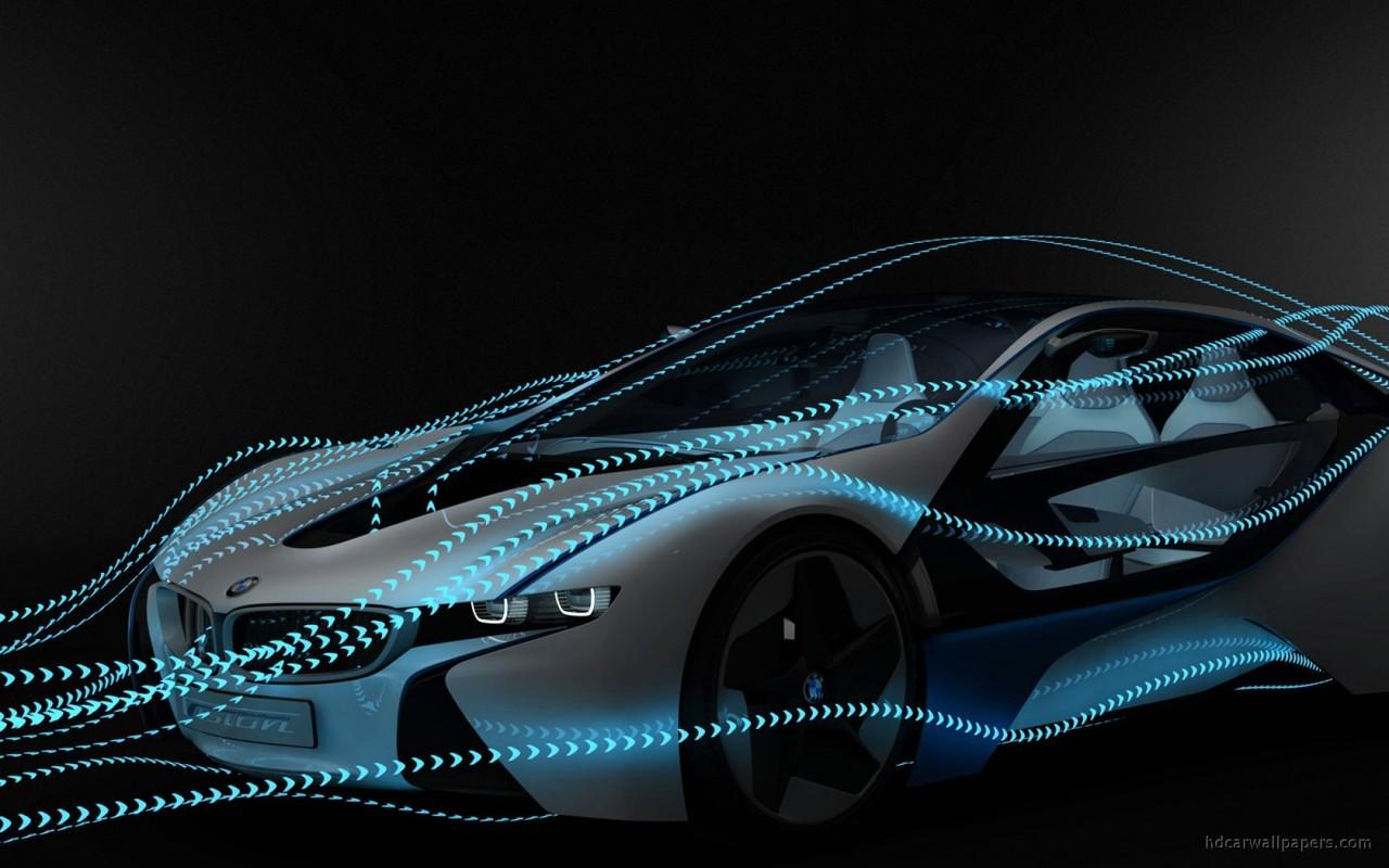 Tesla Logo Wallpaper For Car Bmw Vision Efficient Dynamics Concept 6 Wallpaper Hd Car