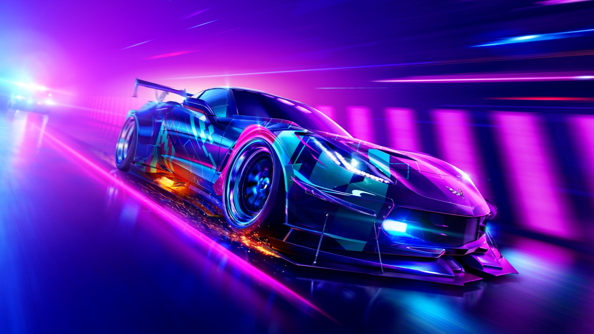 Lincoln Wallpaper Car Chevrolet Corvette Grand Sport In Need For Speed Heat