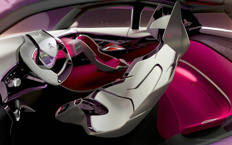 Race Car Wallpaper For Iphone Citroen Revolte Concept Interior Wallpaper Hd Car