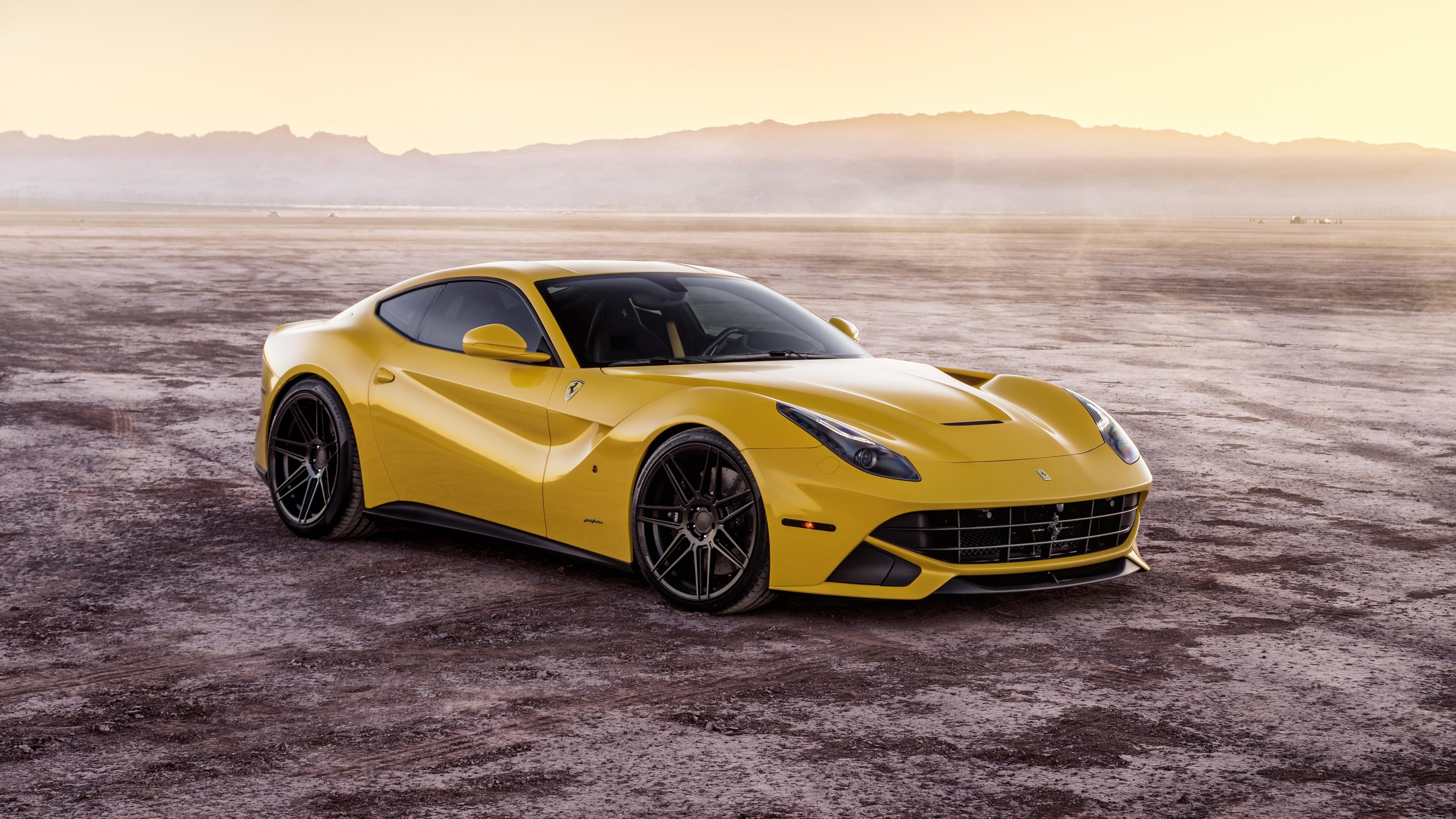 Ferrada Sema Yellow Ferrari F12 5K 3 Wallpaper HD Car
