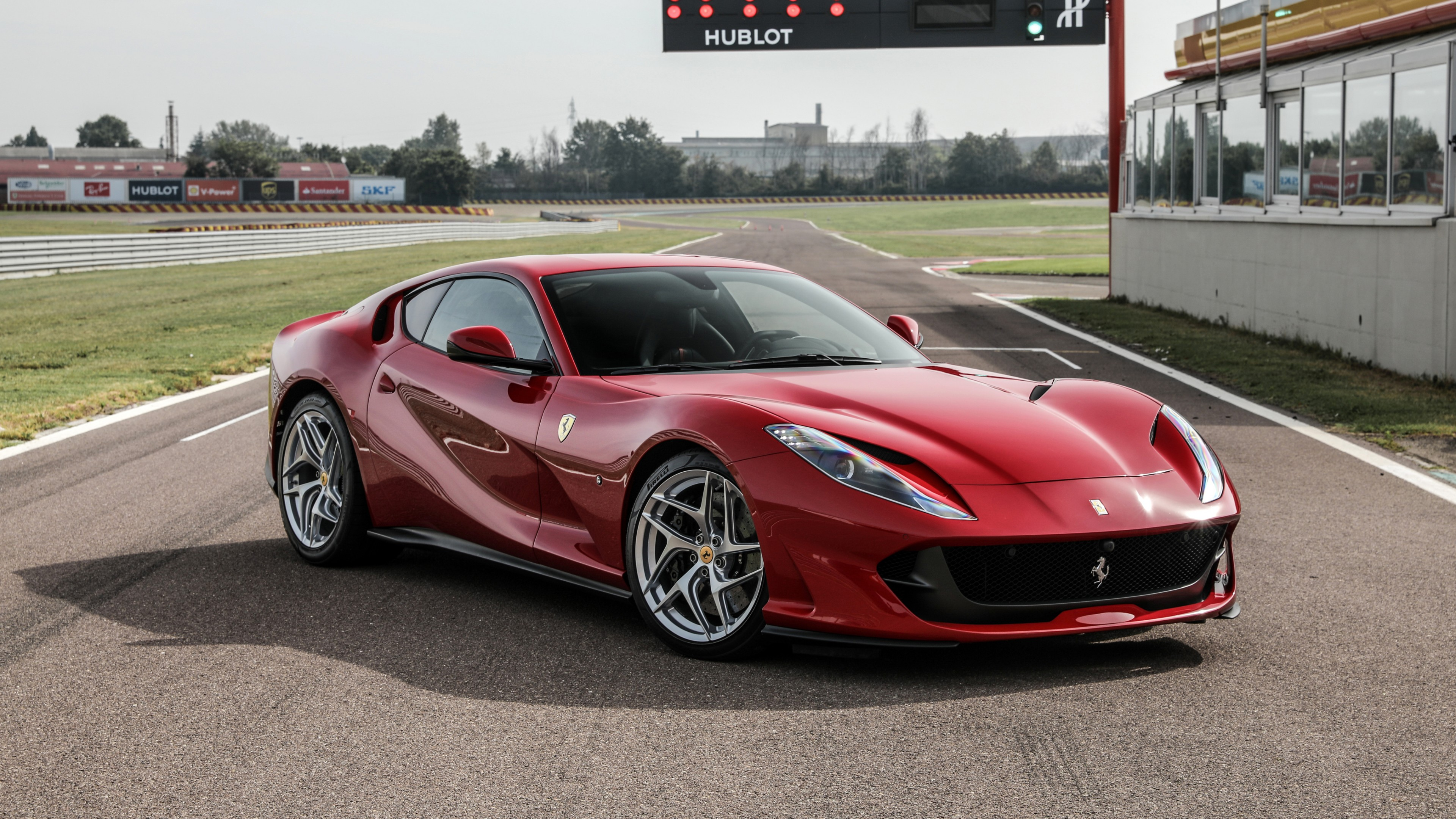 Ferrari 812 Superfast 2017 4K Wallpaper HD Car