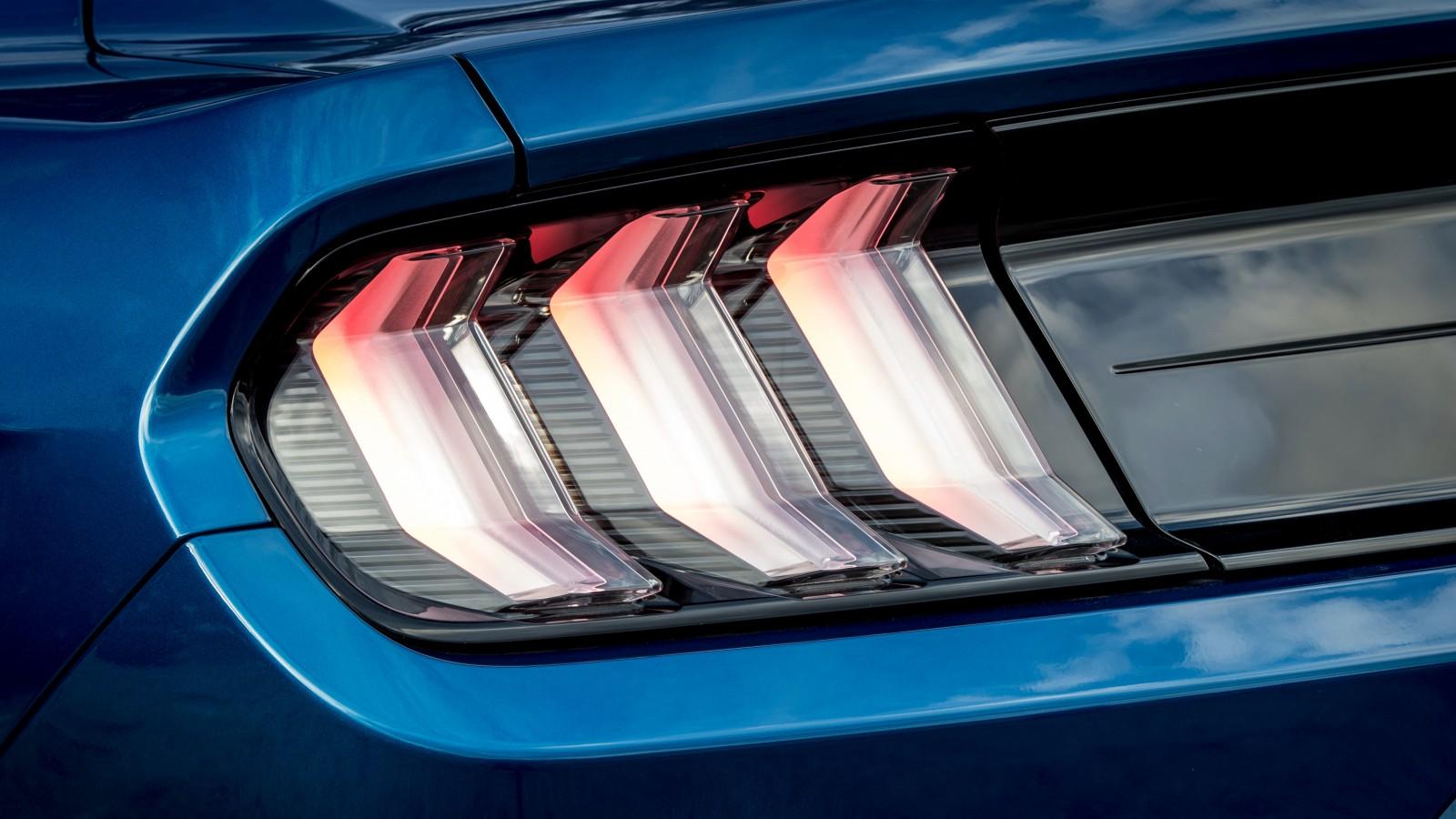 Mustang Wallpaper Iphone X Ford Mustang Led Tail Lights 4k Wallpaper Hd Car