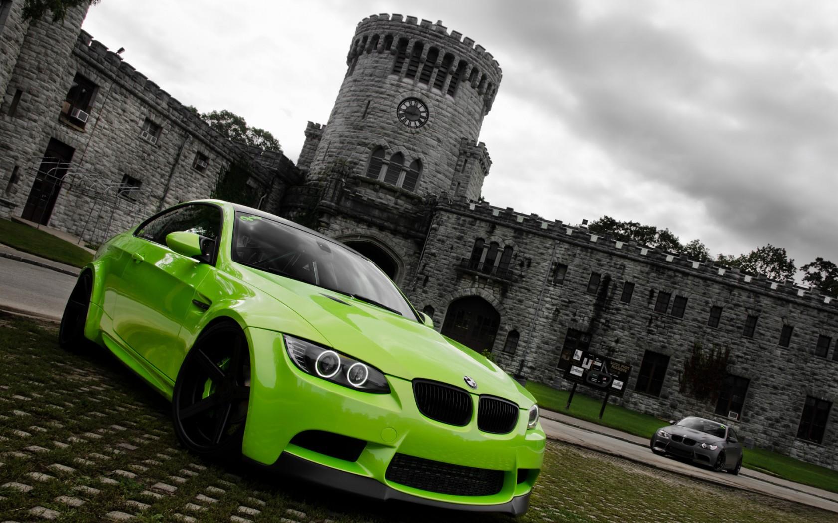 Green BMW M3 Wallpaper HD Car Wallpapers ID 2576