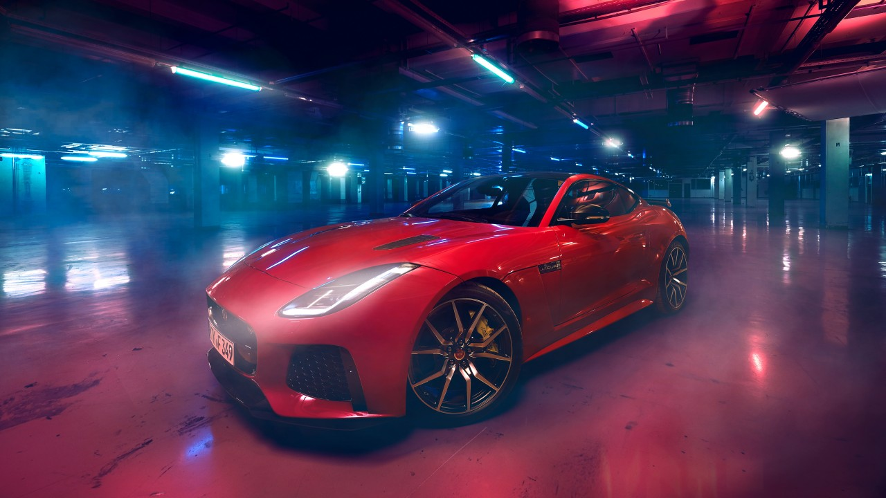 Hd Red Iphone Wallpaper Jaguar F Type Svr 4k Wallpaper Hd Car Wallpapers Id 10781