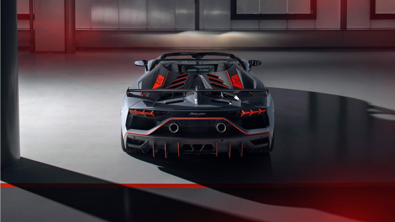 Red Jaguar Car Wallpaper Hd Lamborghini Aventador Svj 63 Roadster 2020 4k 3 Wallpaper