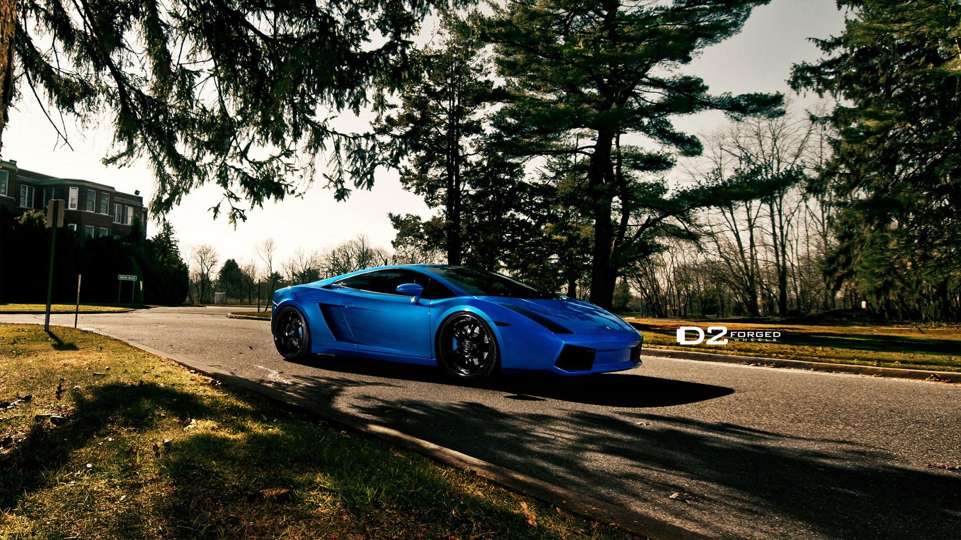 Car Wallpapers Lamborghini Gallardo Lamborghini Gallardo D2forged Vs6 Wheels 5 Wallpaper Hd
