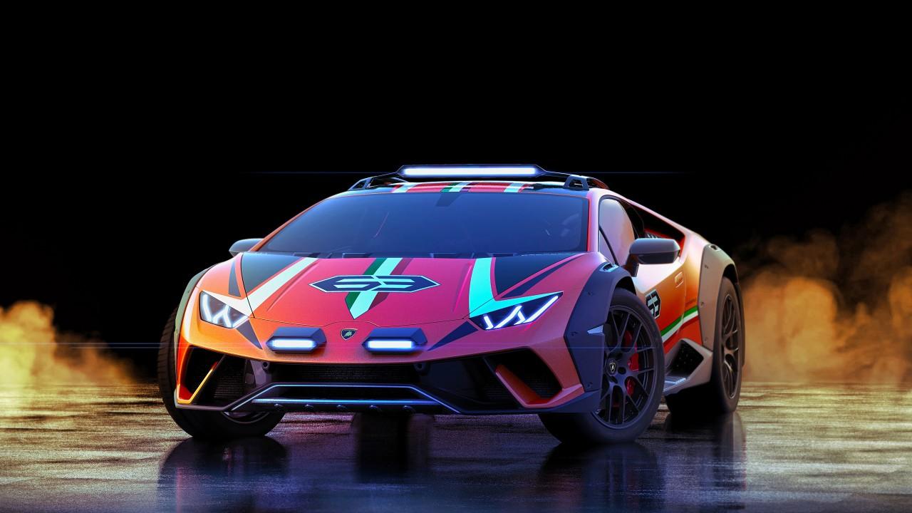 Lamborghini Car Hd Wallpaper For Pc Lamborghini Huracan Sterrato Concept 2019 5k Wallpaper