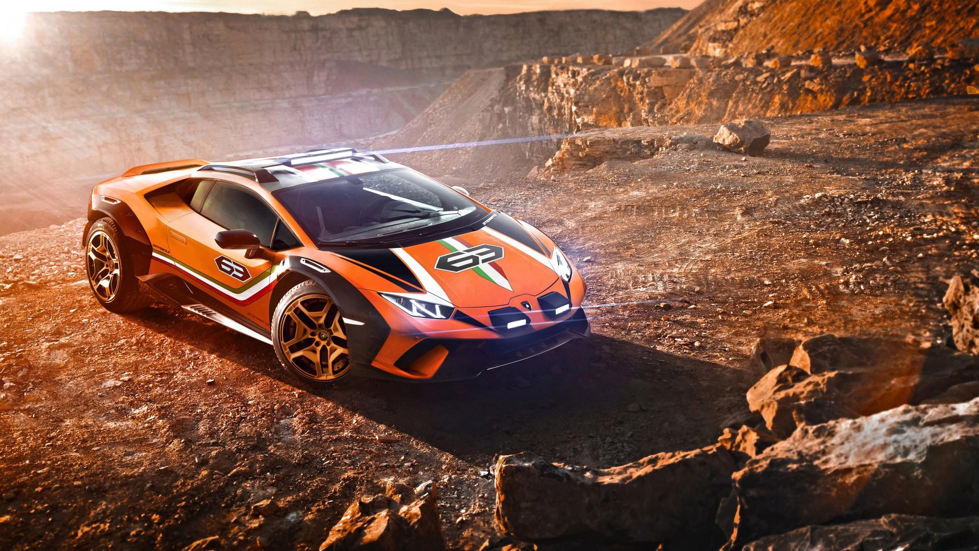 Car Wallpapers Lamborghini Gallardo Lamborghini Huracan Sterrato Concept 2019 5k 2 Wallpaper