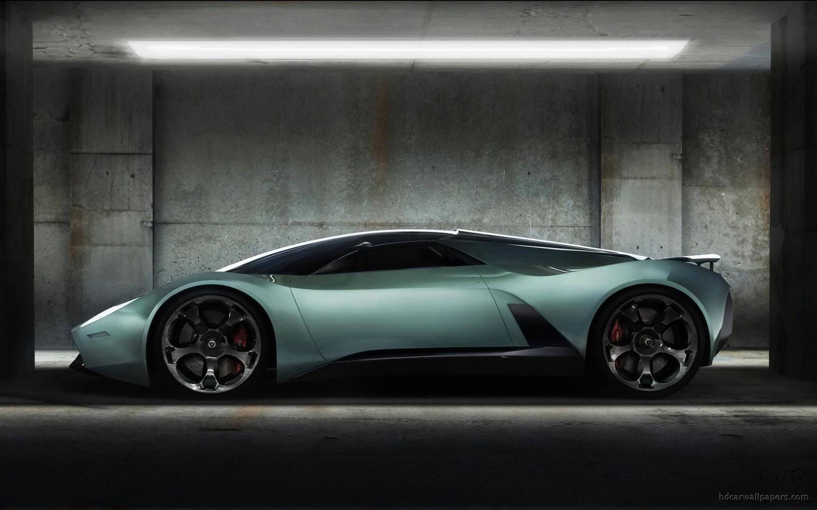 Lamborghini Insecta Concept Wallpaper HD Car Wallpapers