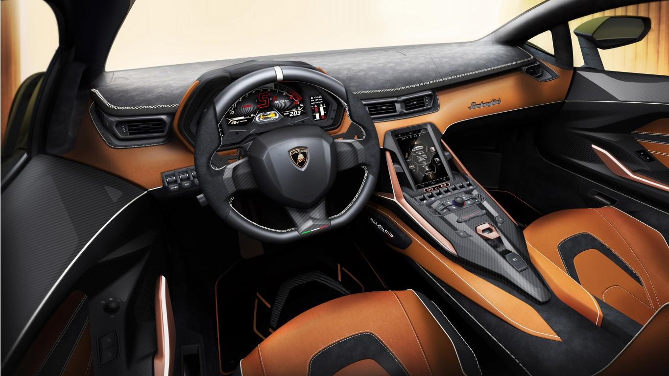 8k Car Wallpaper Download Lamborghini Sian 2019 5k Interior Wallpaper Hd Car