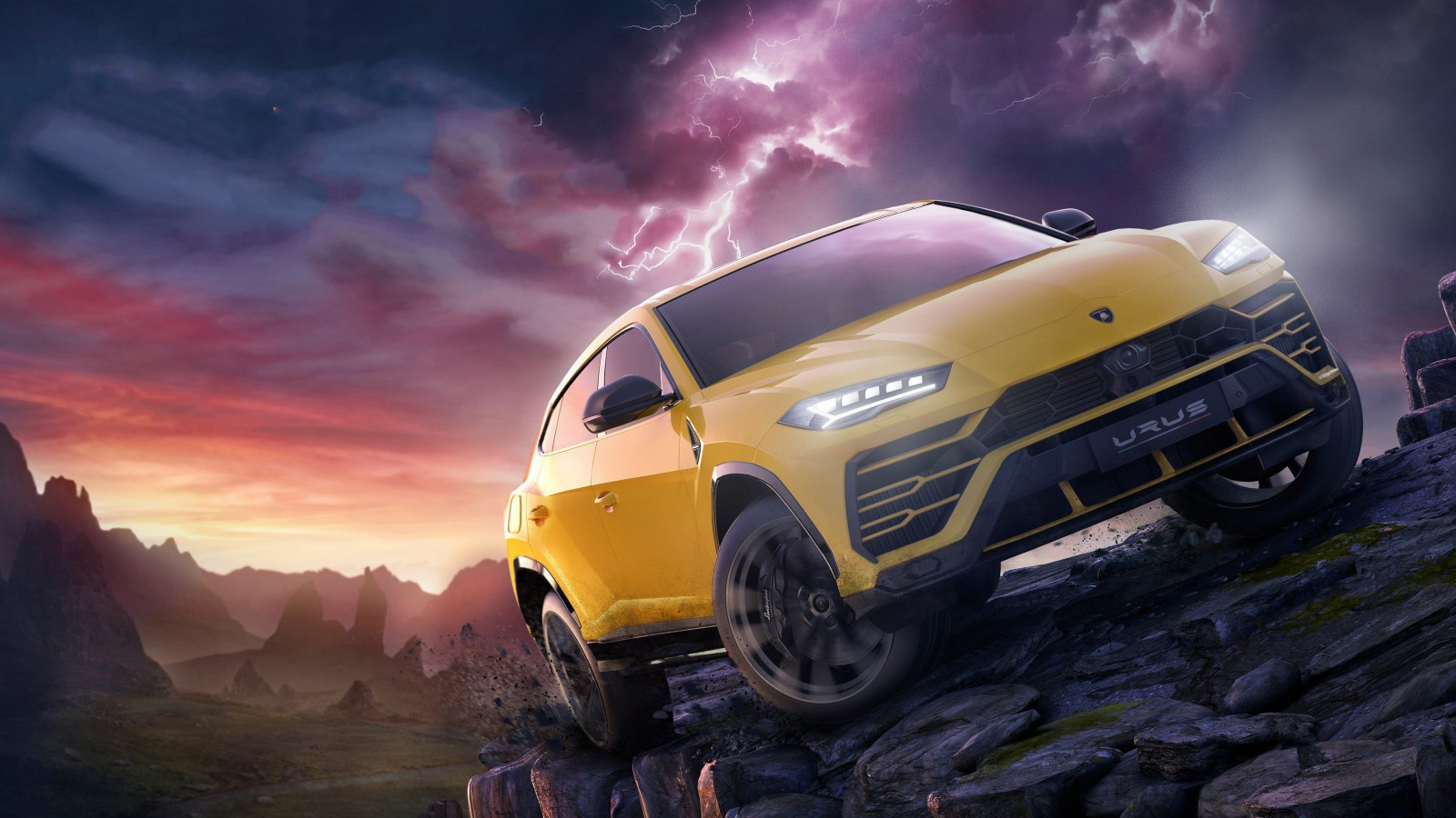 Iphone X Wallpaper Jeep Lamborghini Urus In Forza Horizon 4 5k Wallpaper Hd Car