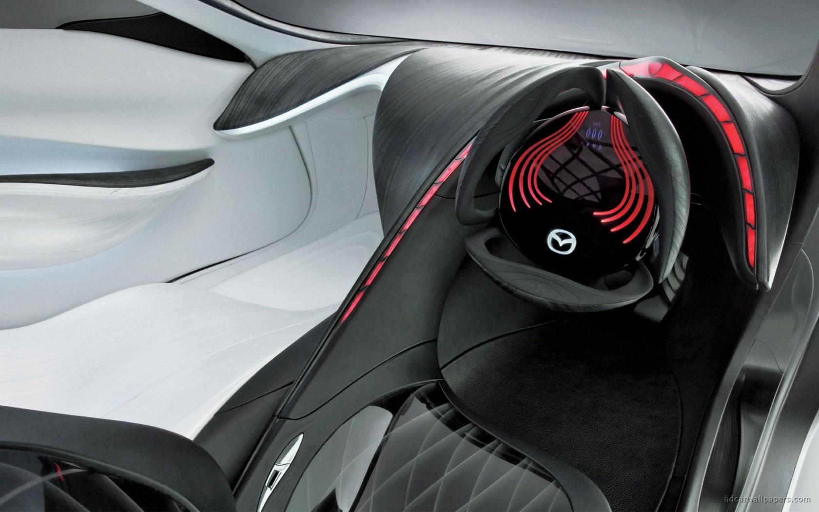 Infiniti Car Logo Wallpaper Mazda Taiki Concept Interior Wallpaper Hd Car Wallpapers