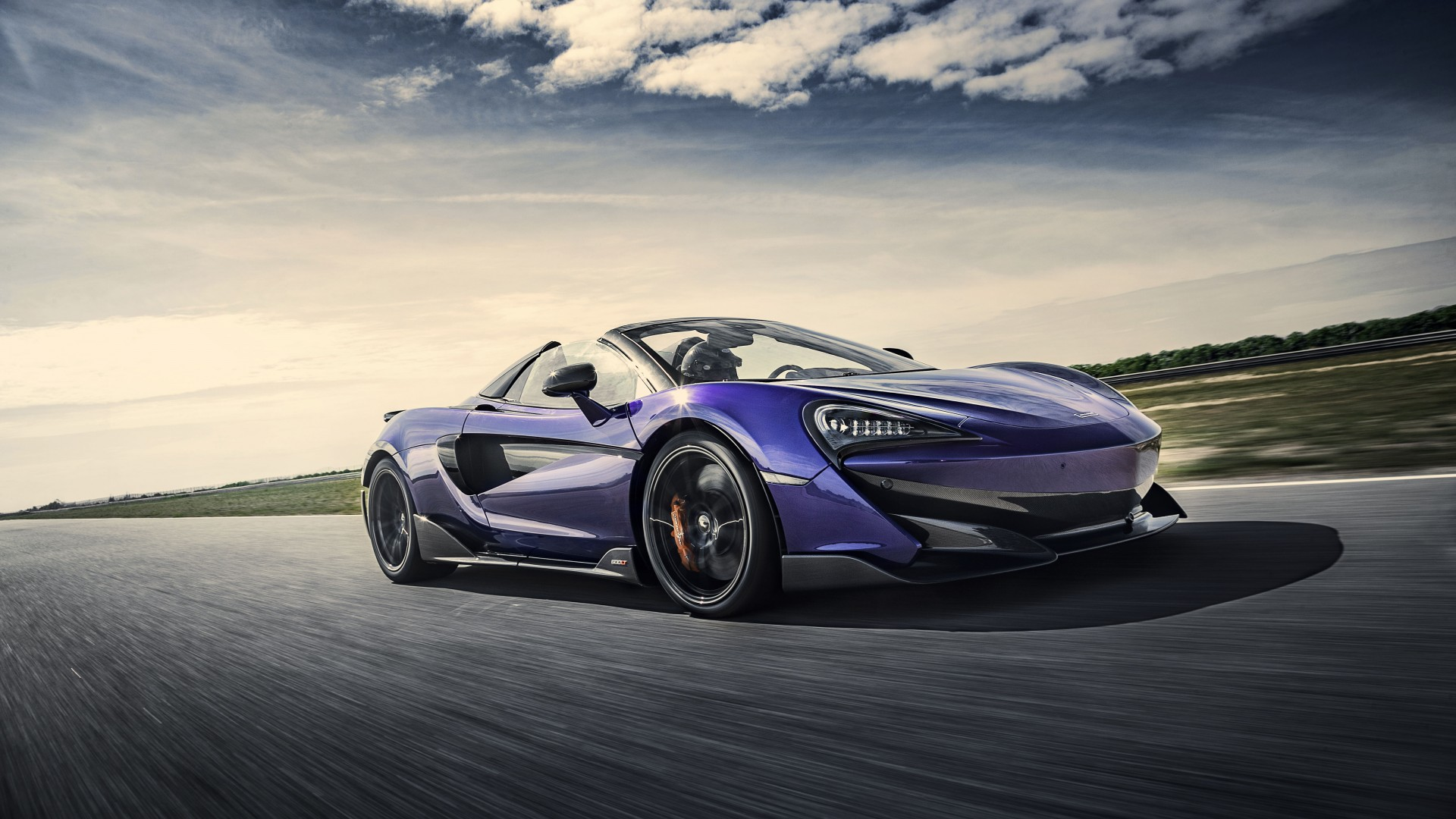 Lincoln Wallpaper Car Mclaren 600lt Spider Lantana Purple 2019 5k Wallpaper Hd