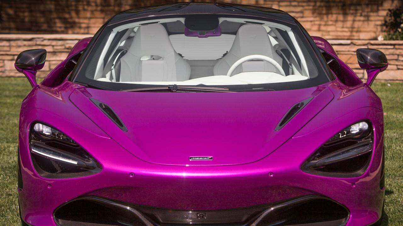 Bugatti Car Wallpaper Pink Mclaren Mso 720s Coupe Fux Fuchsia 2017 Wallpaper Hd Car