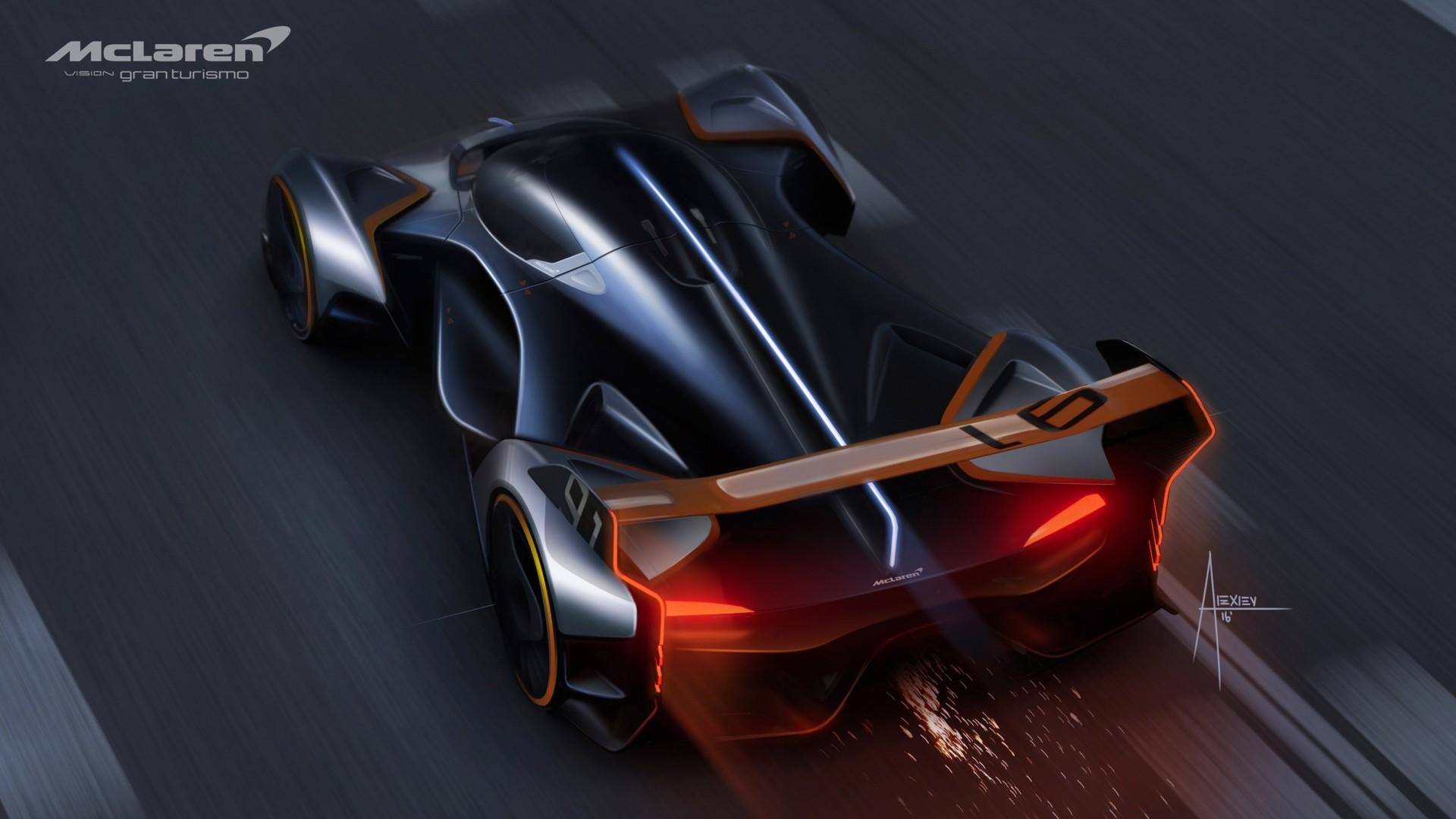 Supra Iphone Wallpaper Mclaren Ultimate Vision Gt Ps4 Gran Turismo Sport Concept