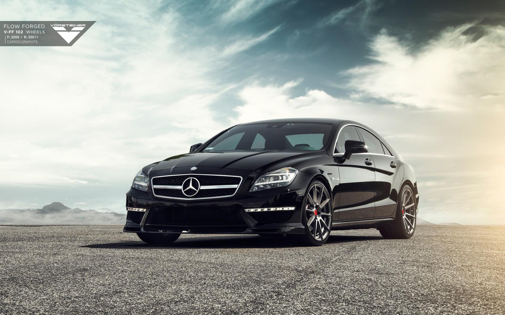 Bmw Wallpaper Iphone X Mercedes Benz Cls63 Amg Vorsteiner Wallpaper Hd Car