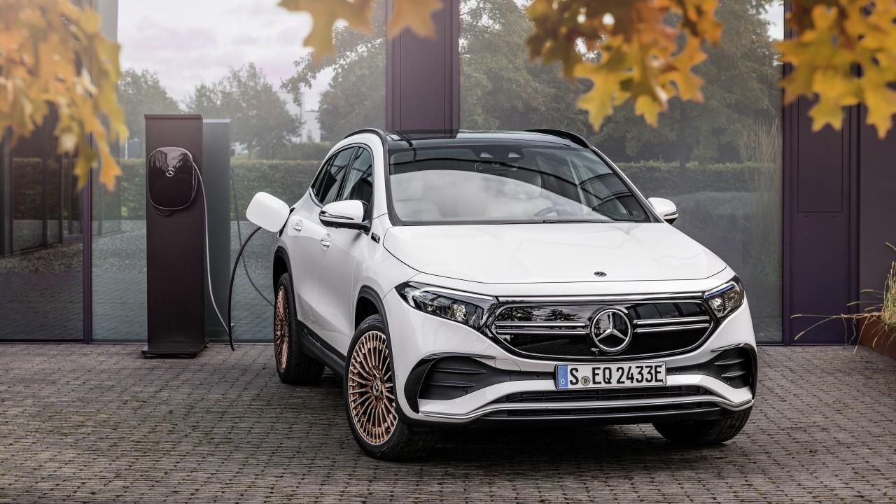 Dieser löst seinen vorgänger, den sls amg, ab. Mercedes-Benz EQA 250 AMG Line Edition 1 2021 5K Wallpaper