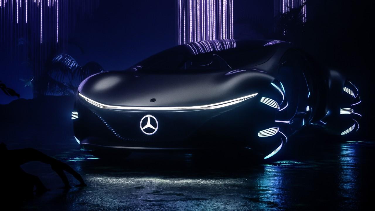 Iphone X Inspired Wallpapers Mercedes Benz Vision Avtr 2020 4k Wallpaper Hd Car