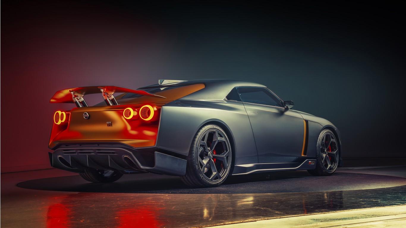 Lamborghini Desktop Wallpaper Hd Nissan Gt R50 Concept 2018 4k 3 Wallpaper Hd Car