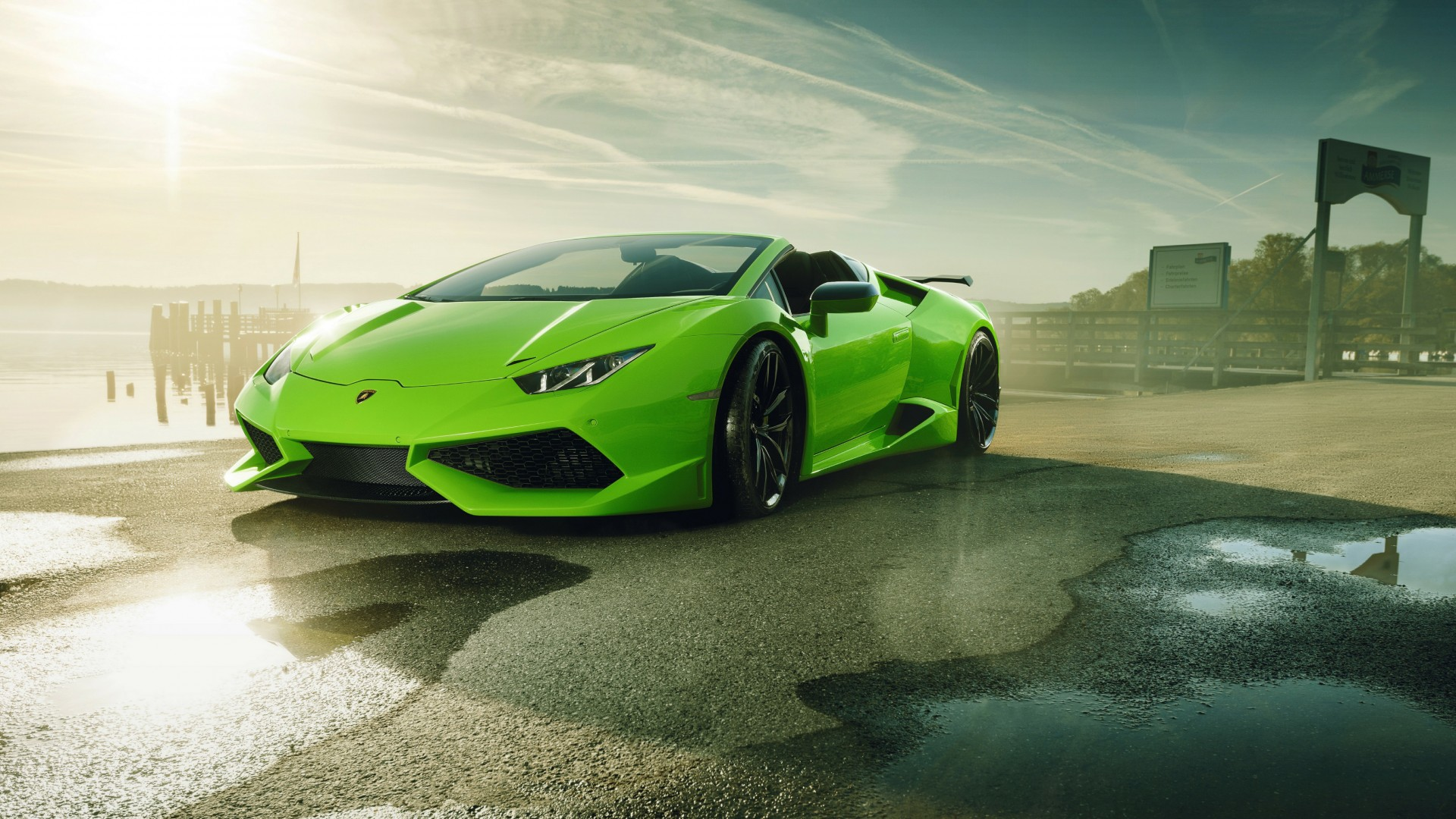 High Performance Car Pc Desktop Wallpaper Novitec N Largo Lamborghini Huracan Spyder 4k Wallpaper