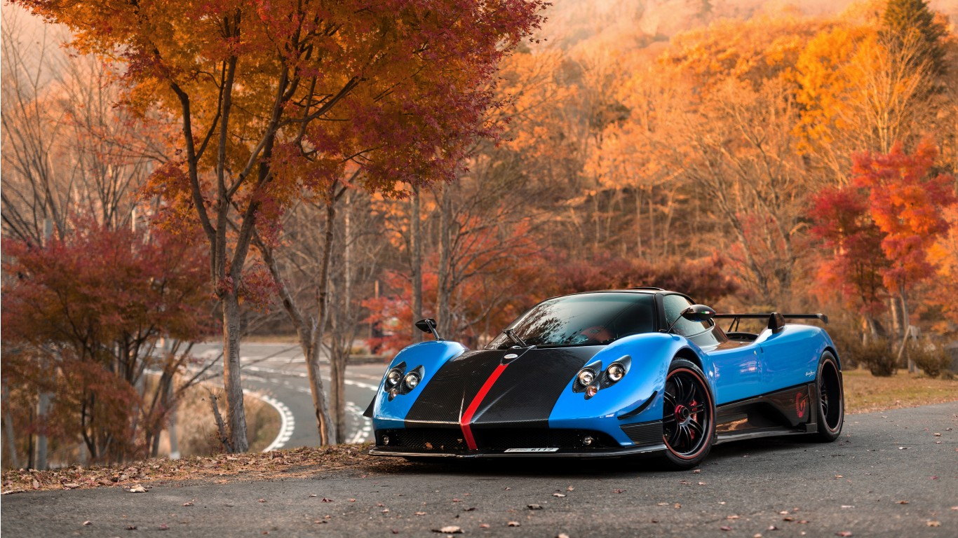 Pagani Huayra Hd Wallpaper Pagani Zonda Cinque Roadster 4k Wallpaper Hd Car