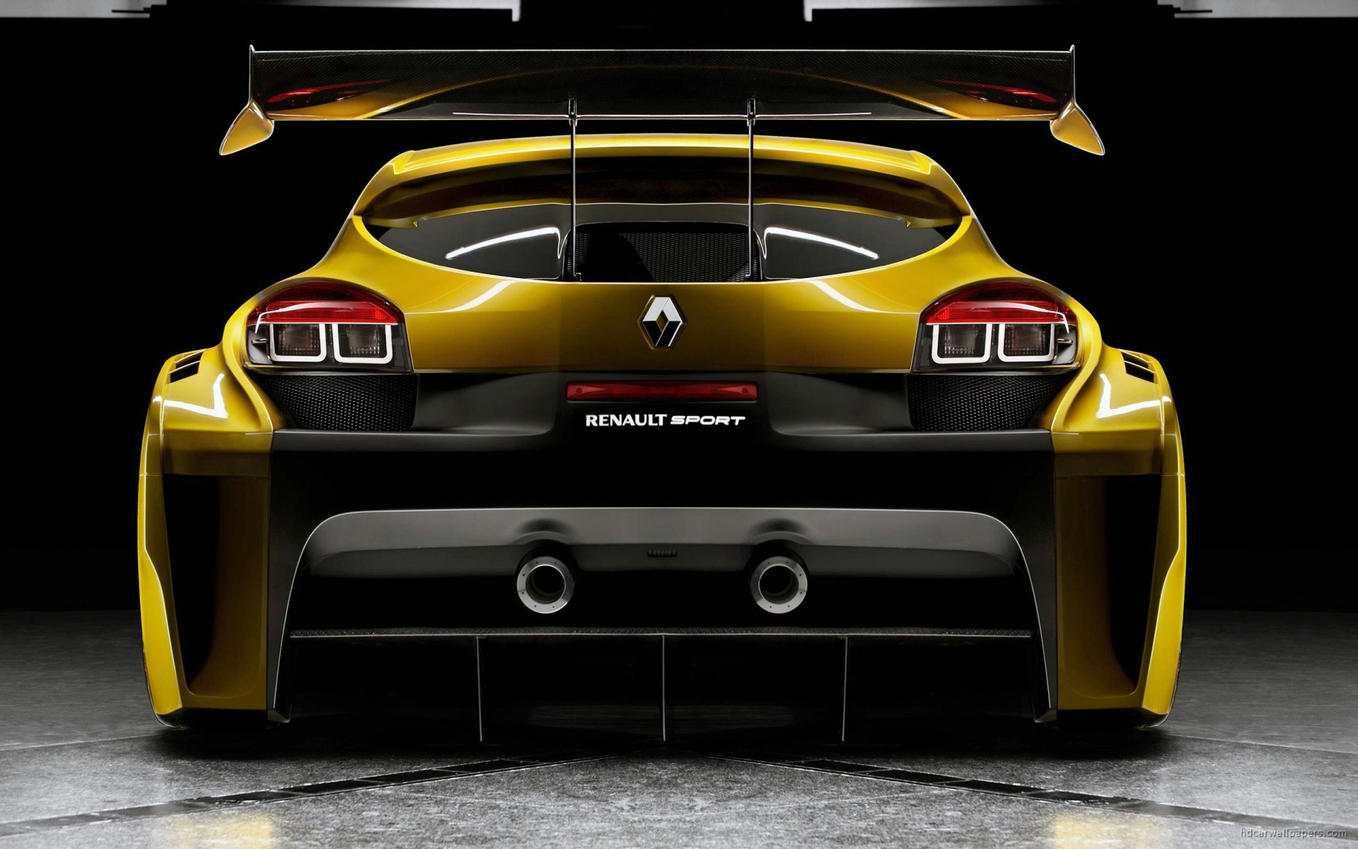 Apple Logo Wallpaper For Iphone 3d Renault Megane Trophy Back Wallpaper Hd Car Wallpapers