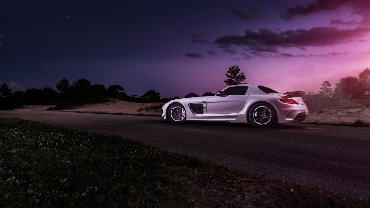 Porsche Boxster Wallpaper Hd Renntech Mercedes Benz Sls Black Series 4k 2 Wallpaper