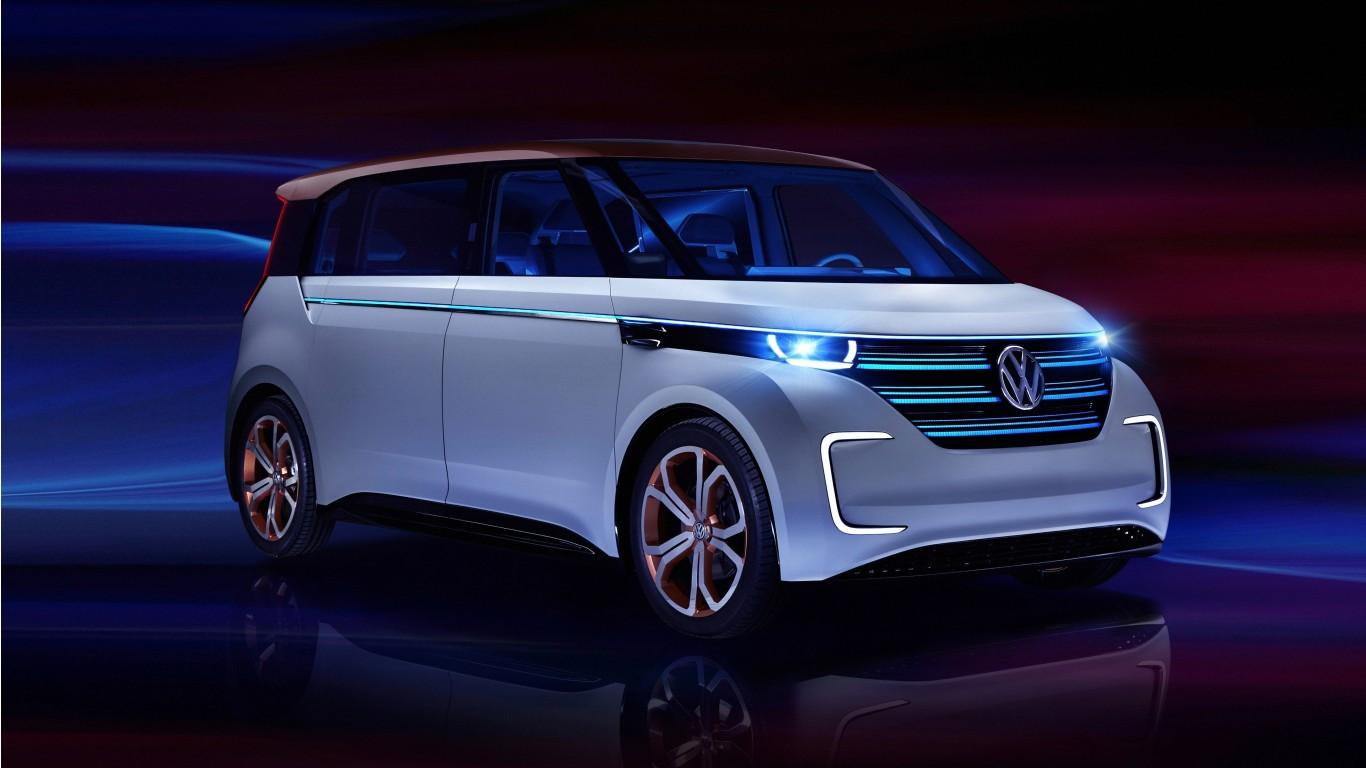 Volkswagen BUDD E Electric Car 4K Wallpaper HD Car