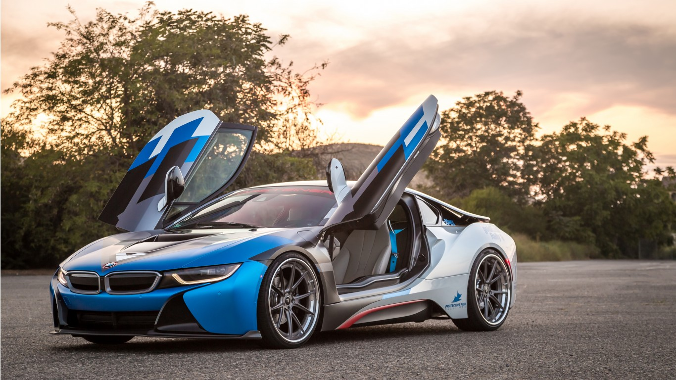 4k Wallpapers Exotic Super Sports Cars Vorsteiner Bmw I8 Vr E Wallpaper Hd Car Wallpapers Id