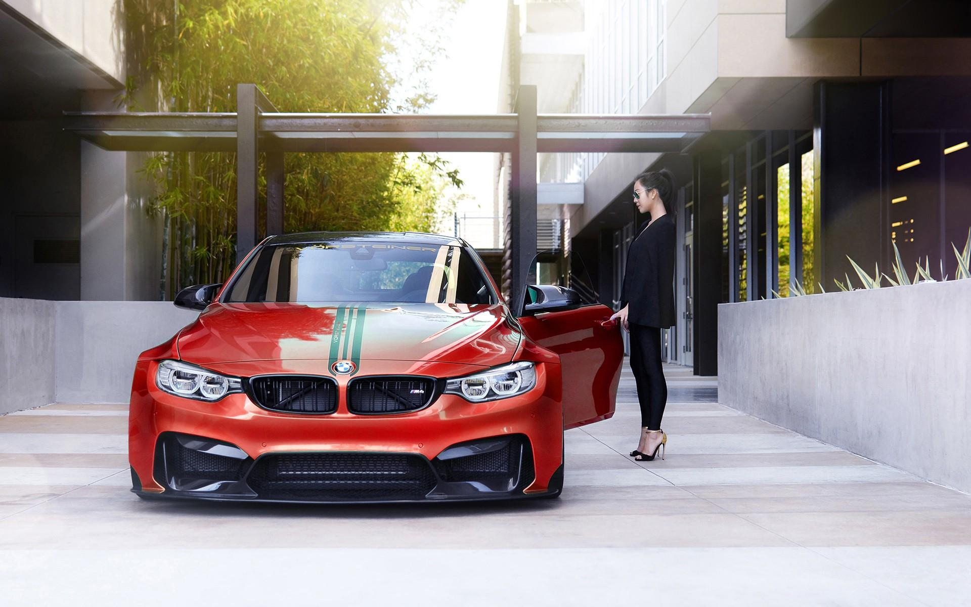 Vorsteiner BMW M4 GTRS4 Widebody Wallpaper HD Car