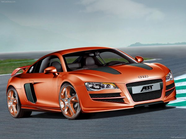 2008 Abt Audi R8 3 Wallpaper Hd Car Wallpapers Id #1737