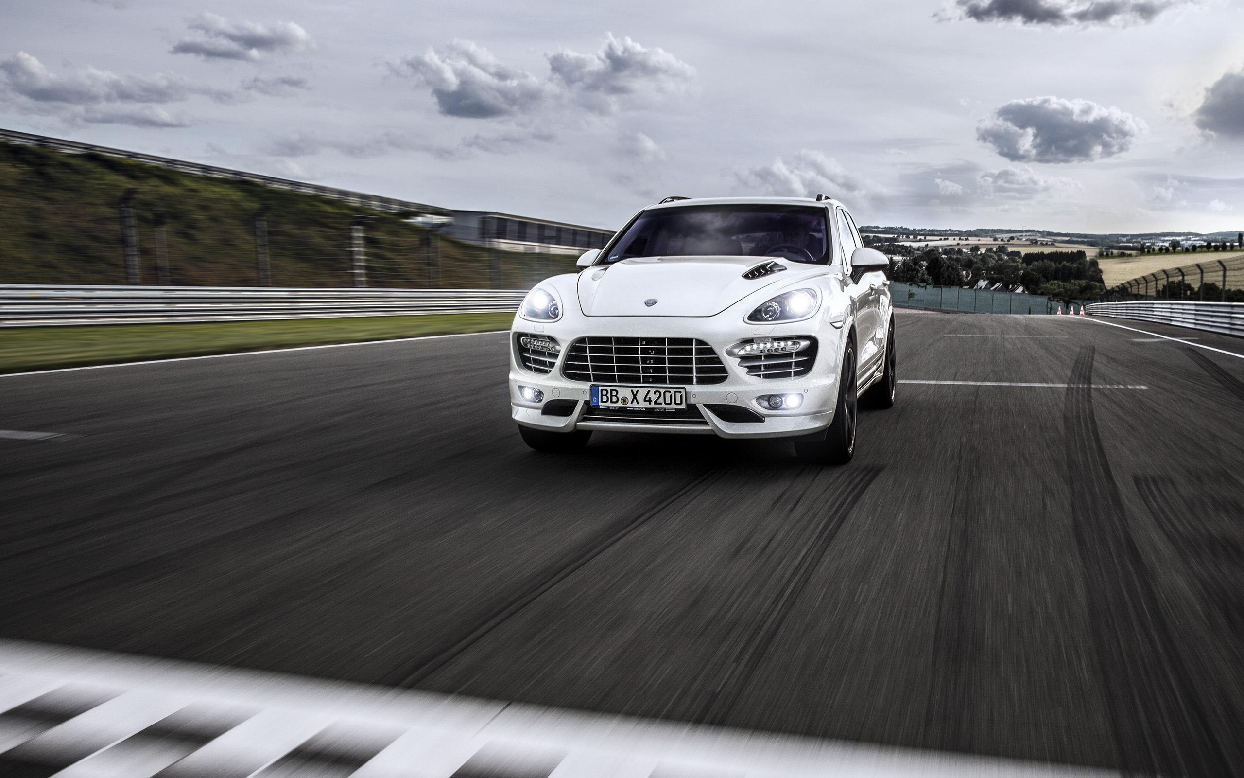 2013 Porsche Cayenne S Diesel By Techart Wallpaper Hd Car