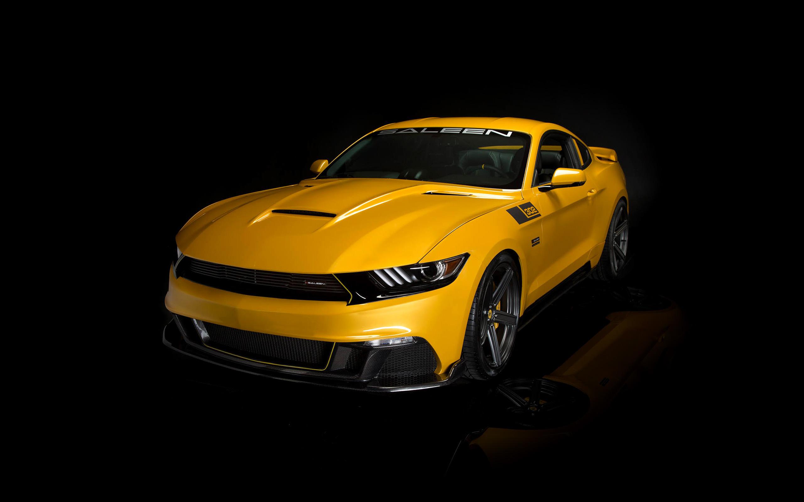 4k Uhd Wallpapers Of Cars 2015 Saleen Mustang S302 Black Label Wallpaper Hd Car