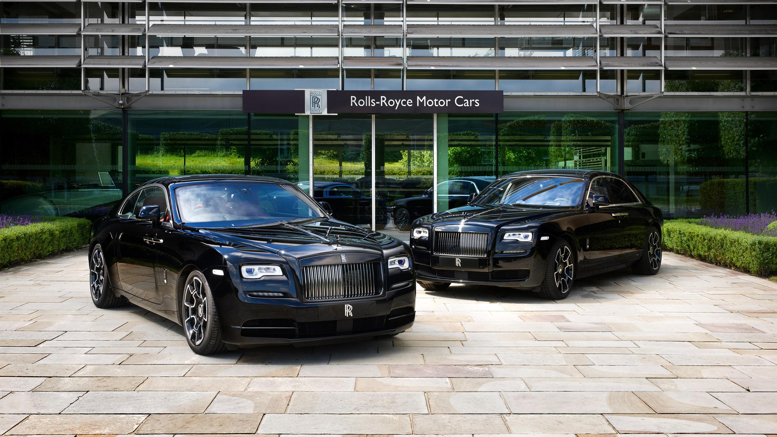 2016 Rolls Royce Wraith Black Badge Ghost Black Badge Wallpaper Hd