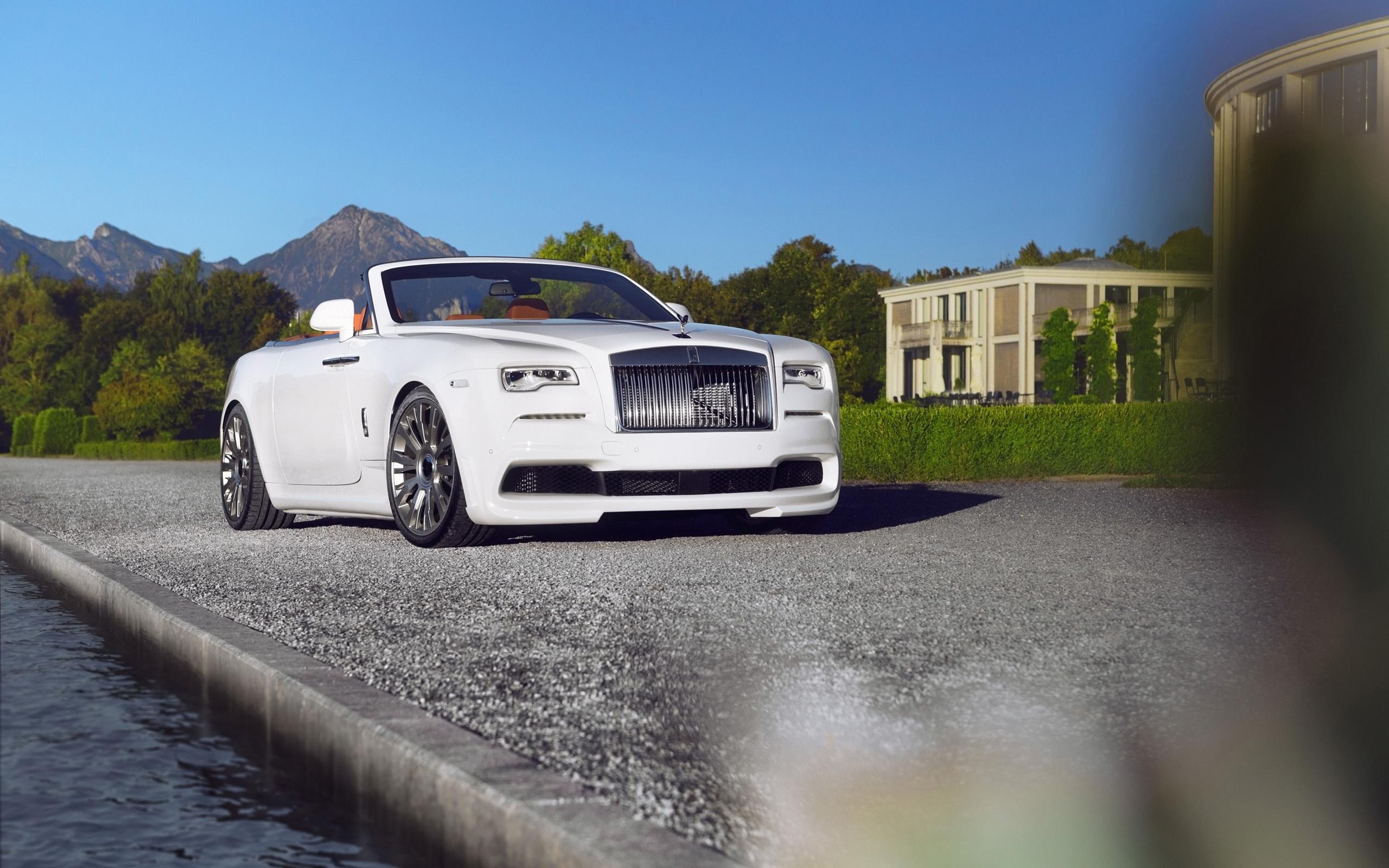 2016 Spofec Rolls Royce Dawn 4 Wallpaper Hd Car Wallpapers Id 6999
