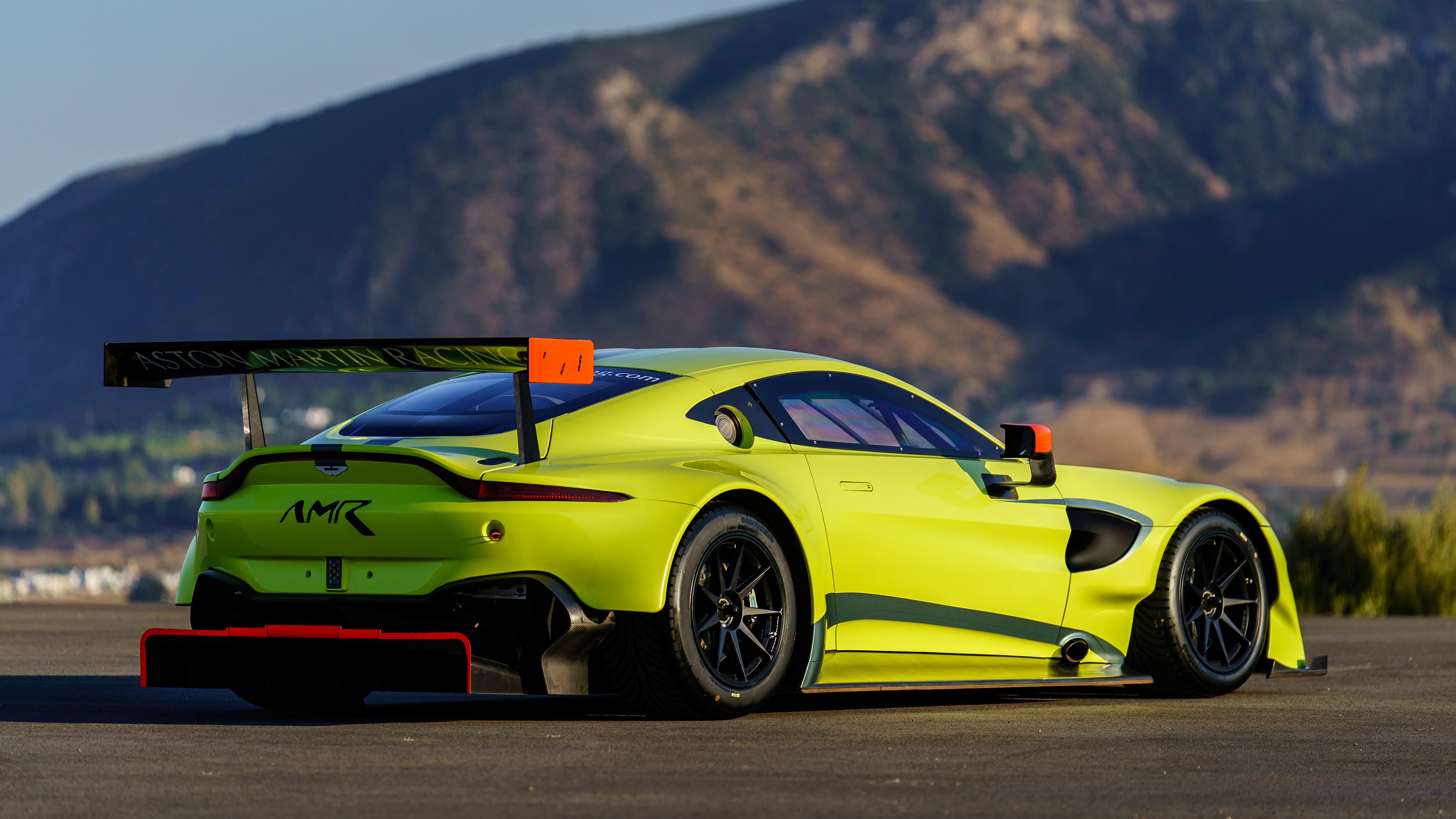 2018 Aston Martin Vantage GTE 4K 7 Wallpaper HD Car