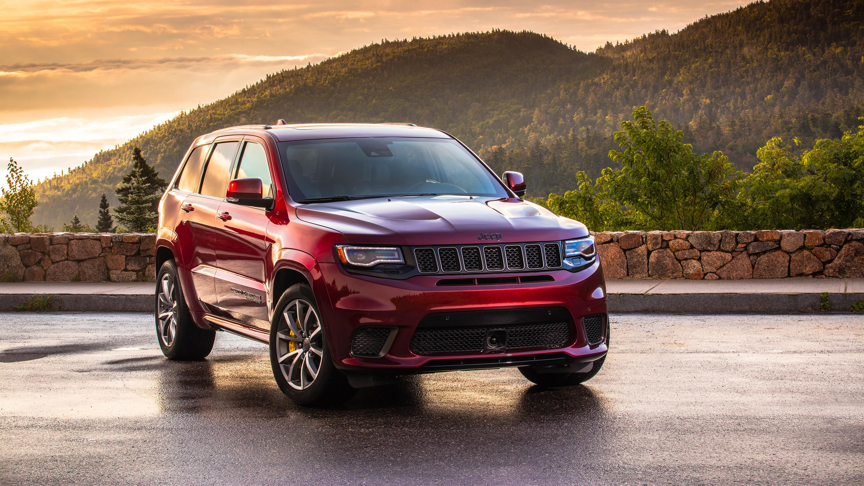 2018 Jeep Grand Cherokee Trackhawk 2 Wallpaper Hd Car Wallpapers
