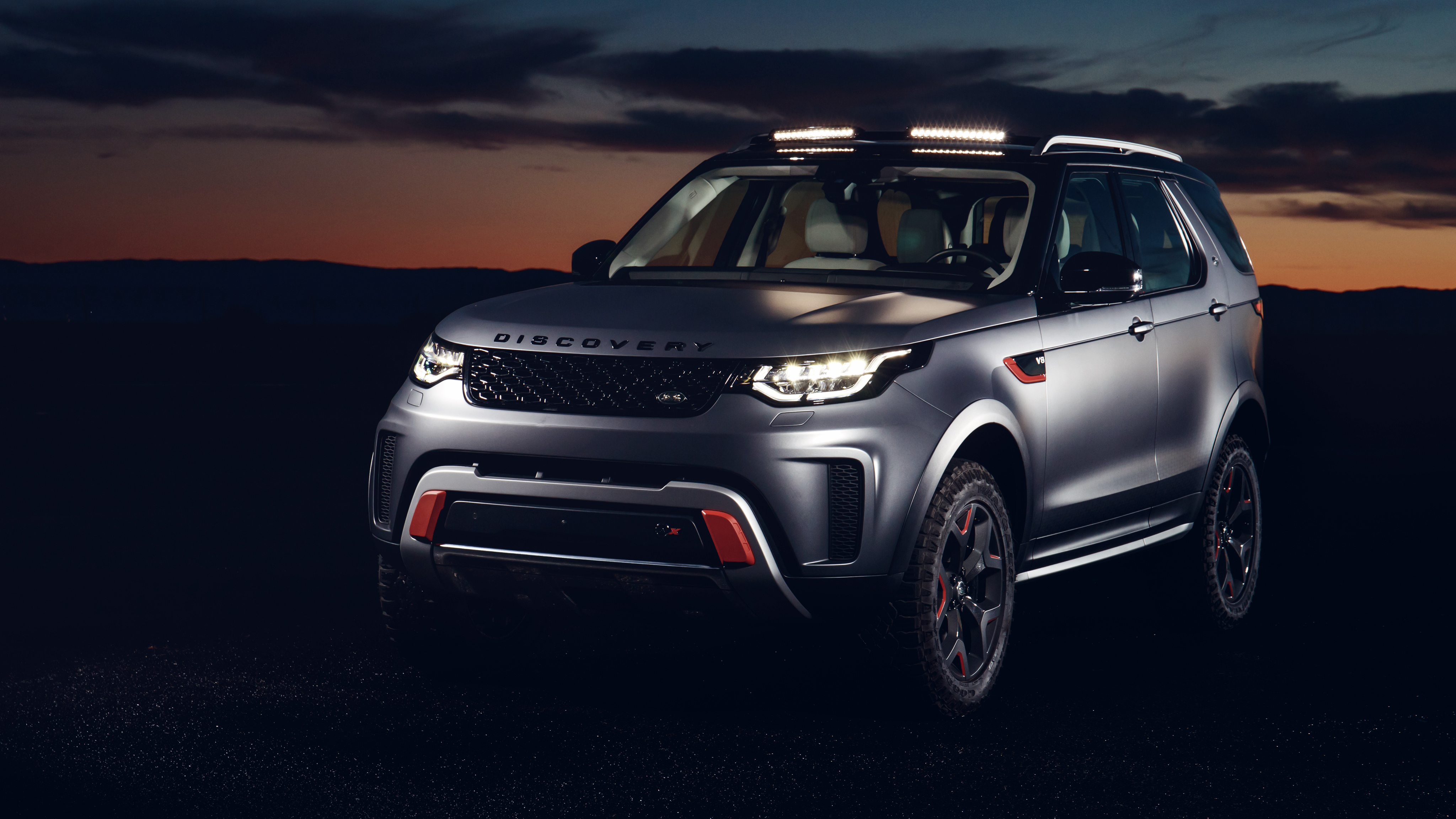 Iphone X Dynamic Wallpaper Download 2018 Land Rover Discovery Svx 4k Wallpaper Hd Car