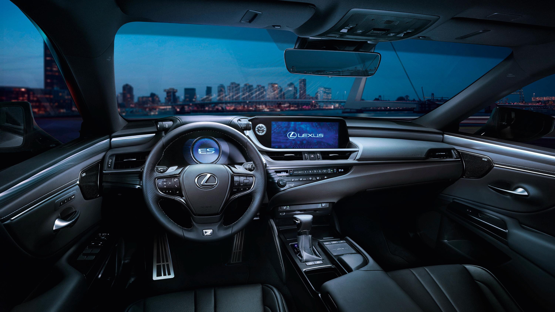 2018 Lexus Es 300h F Sport Interior Wallpaper Hd Car Wallpapers