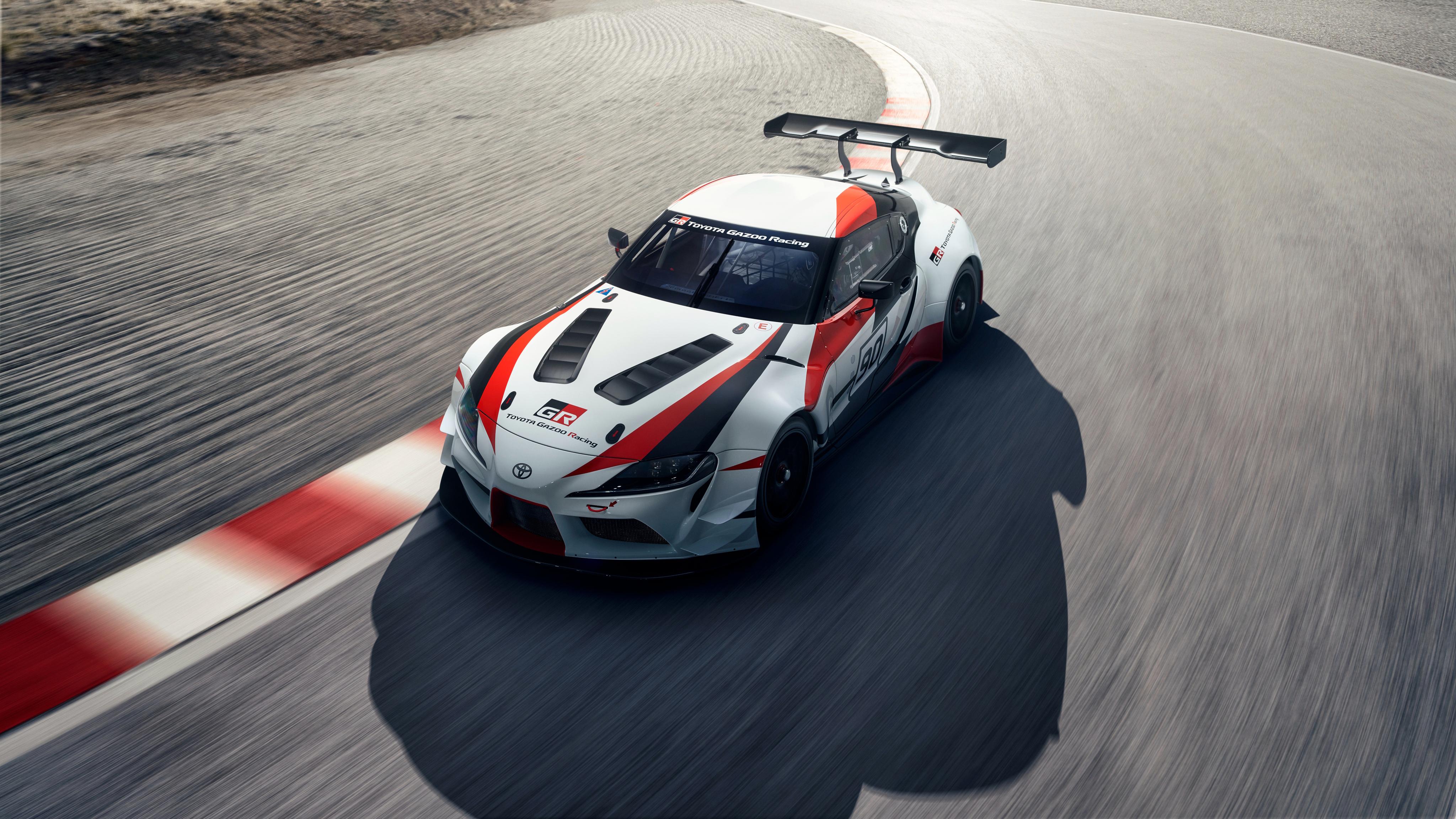 Iphone X Verge Wallpaper 2018 Toyota Gr Supra Racing Concept 4k 4 Wallpaper Hd