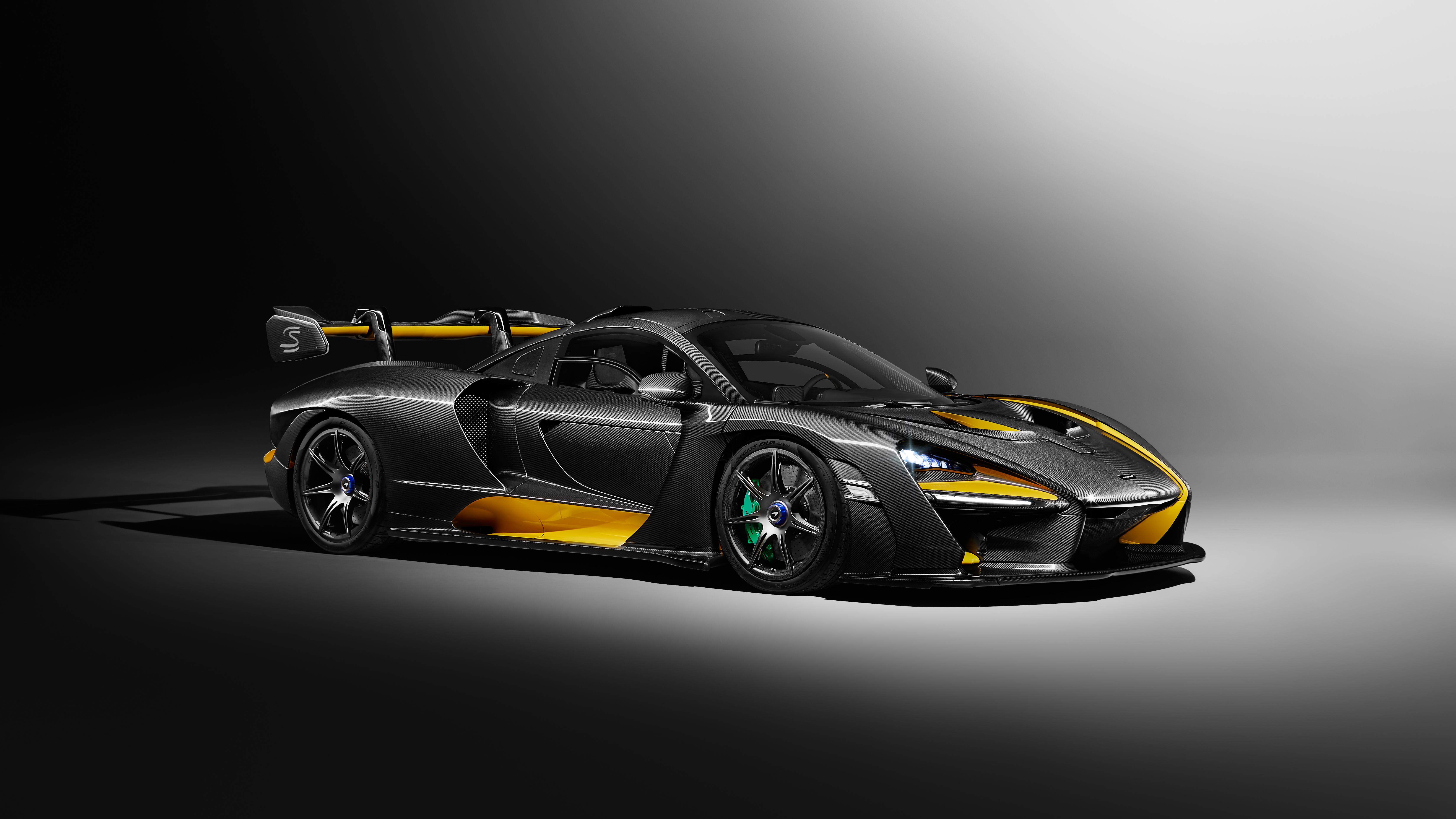 2019 Mclaren Senna Carbon Theme By Mso 5k Wallpaper Hd Car