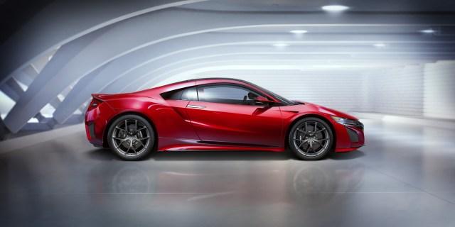Acura Nsx 2016 4k 5k