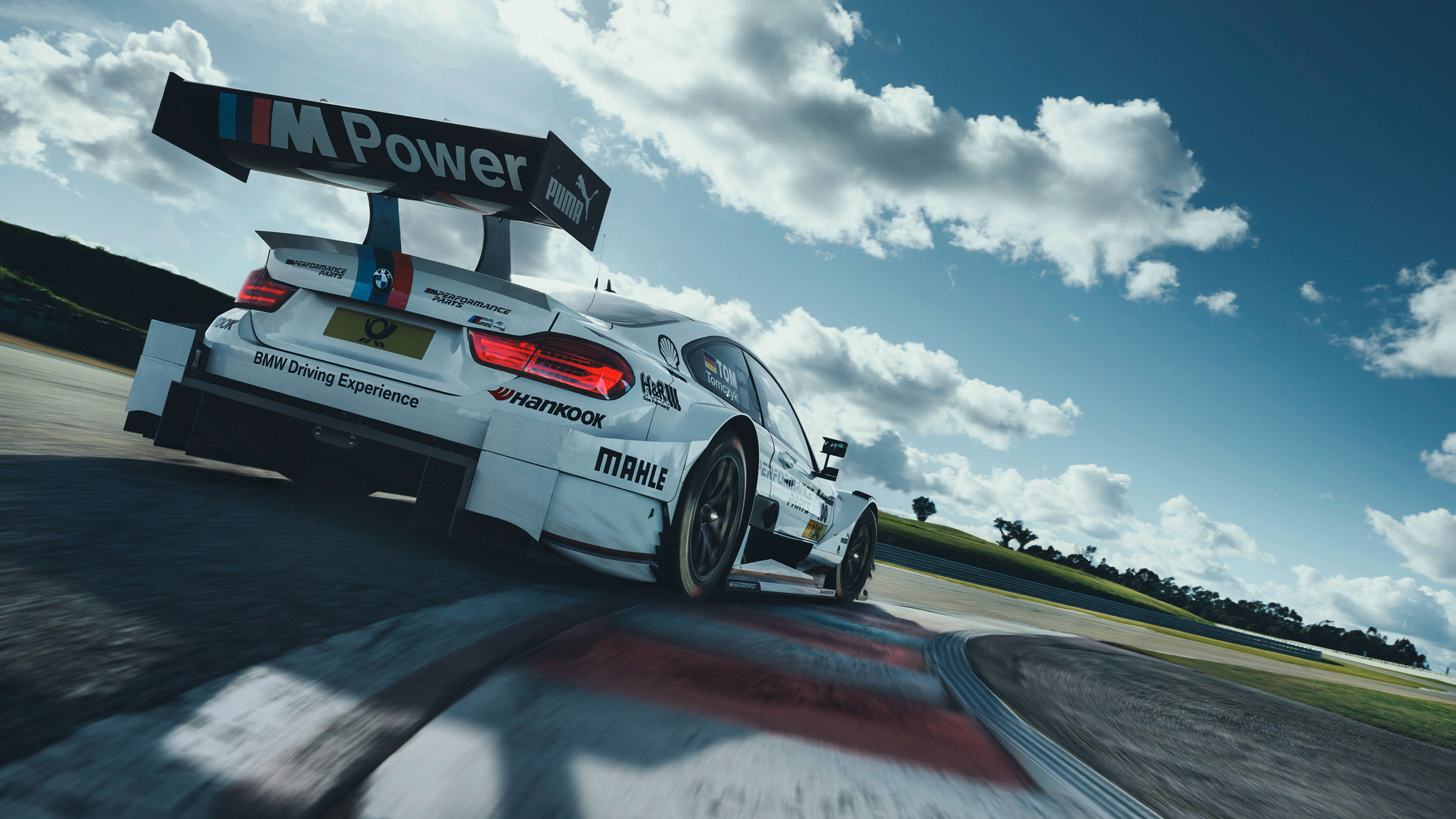 Bmw M4 Dtm Racing Track Wallpaper Hd Car Wallpapers Id 8098