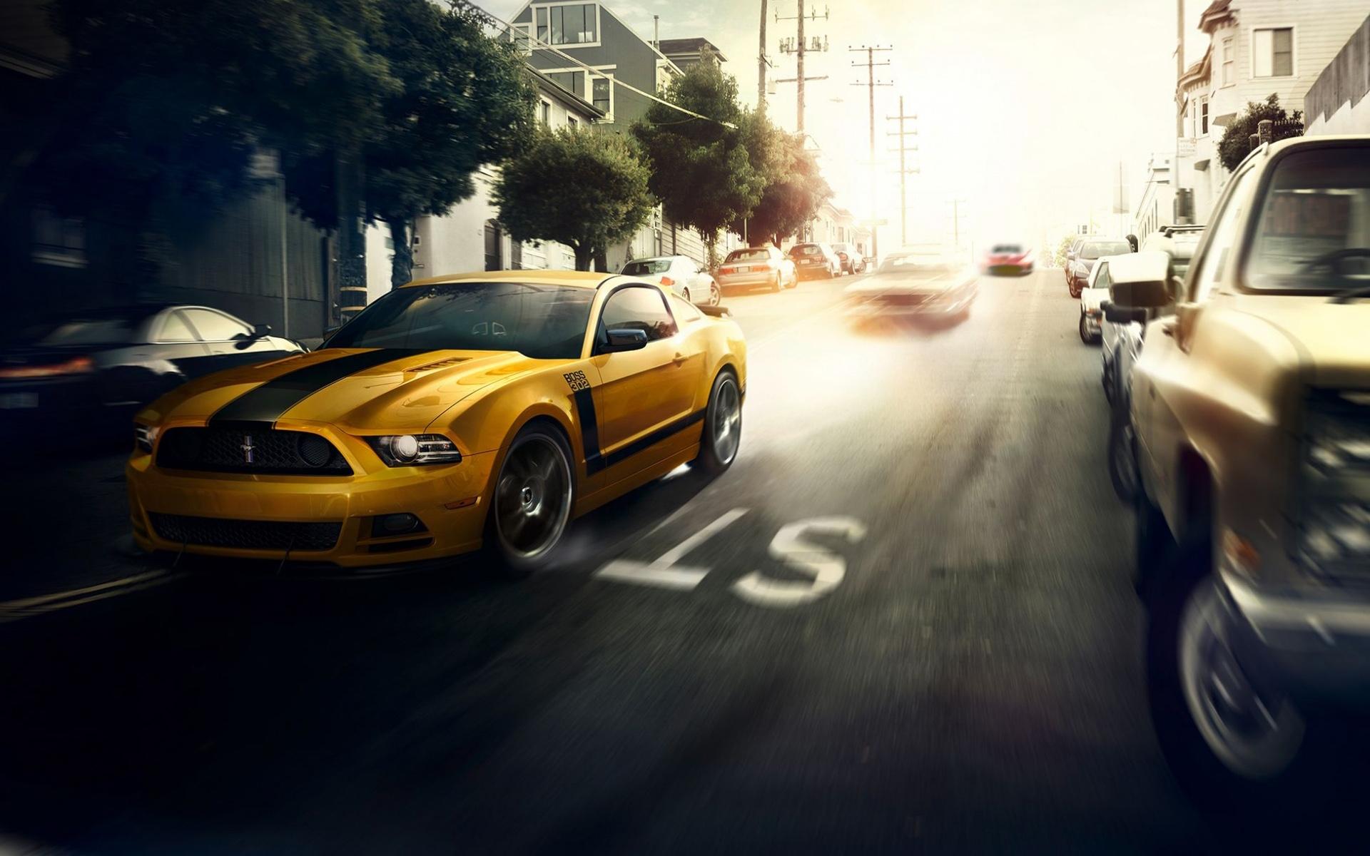 American Muscle Car Wallpaper Mobile Ford Mustang Boss 302 Wallpaper Hd Car Wallpapers Id 5669