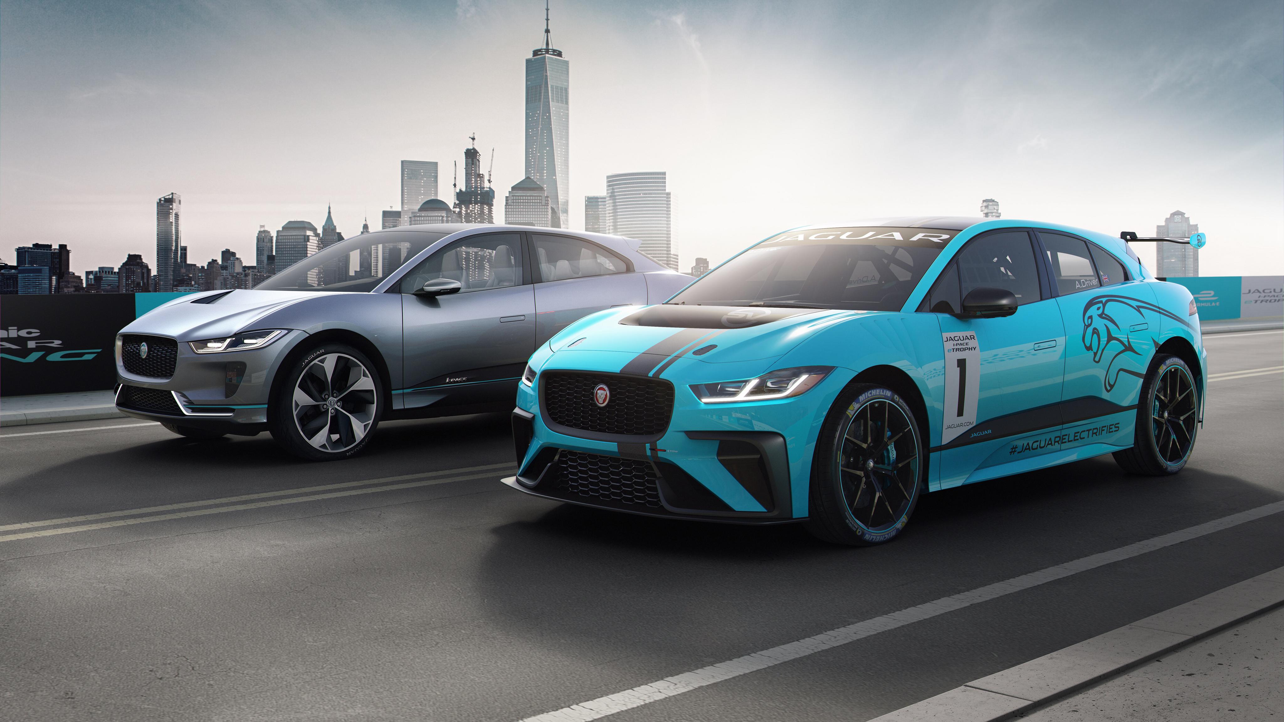 Iphone X Dynamic Wallpaper Android Jaguar I Pace Concept 4k Wallpaper Hd Car Wallpapers