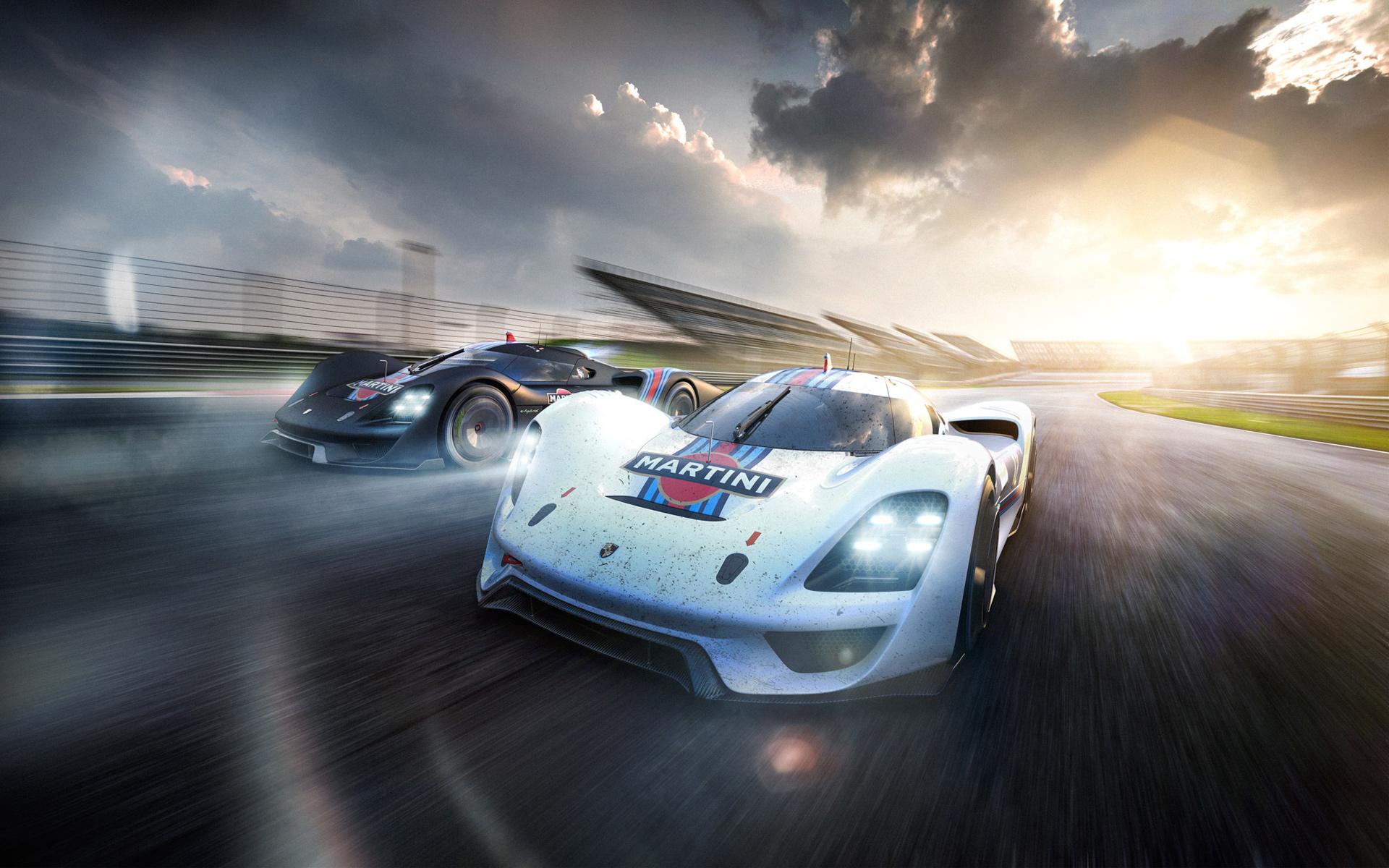 Race Car Wallpaper For Iphone Porsche Vision Gt Concept 2016 Wallpaper Hd Car